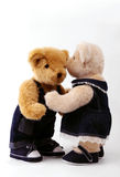 Couple of teddy bear Royalty Free Stock Photo