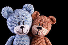 Couple of teddy Royalty Free Stock Photography