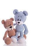 Couple of teddy Royalty Free Stock Photo