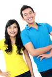 Couple of teenager Royalty Free Stock Photos