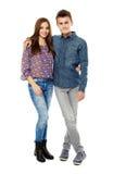 Couple of teens Stock Photography