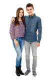 Couple of teens Royalty Free Stock Photography