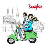 Couple in Thailand Royalty Free Stock Images
