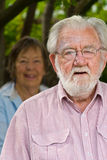 Couple in their 80's - 2 Royalty Free Stock Photos