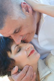 Couple in their fifties royalty free stock photos