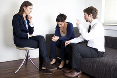 Couple therapy psychoanalysis Stock Photography