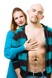 Couple together Royalty Free Stock Photography