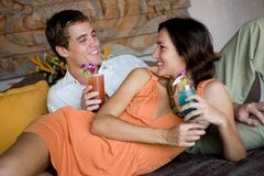 Couple Together Stock Photo