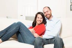Couple together having fun Stock Photo