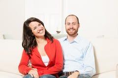 Couple together having fun Stock Photos