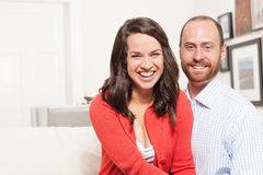 Couple together having fun Stock Image