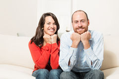 Couple together having fun Stock Photography