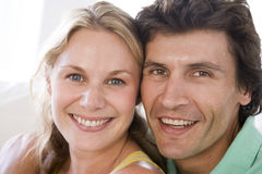 Couple together smiling Stock Photo