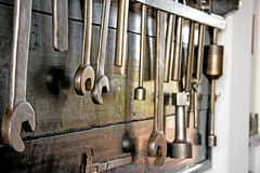 Couple of tools Royalty Free Stock Photo