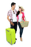 Couple tourist on vacation Stock Image