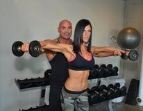 Couple Training Stock Photography