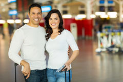 Couple travel air Royalty Free Stock Photography