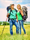 Couple on travel Royalty Free Stock Photography
