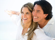Couple traveling on their holidays Royalty Free Stock Image