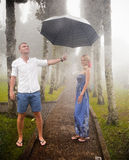 Couple travelling to Asia Stock Images