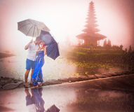 Couple travelling to Asia Royalty Free Stock Photo