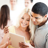 Couple Using Tablet Royalty Free Stock Photos