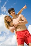 Couple on vacation Royalty Free Stock Photography