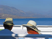 Couple on vacation Royalty Free Stock Image