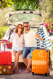 Couple vacation Royalty Free Stock Photos