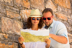 Couple on vacation Stock Photos