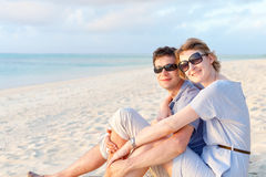Couple at vacation Stock Images