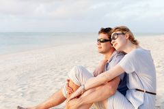 Couple at vacation Stock Photo