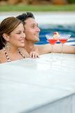 Couple in vacations Stock Image