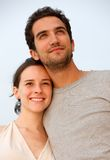Couple on vacations Stock Images