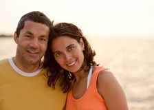 Couple on vacations Royalty Free Stock Images