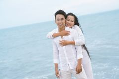 Couple on vacations Royalty Free Stock Photos