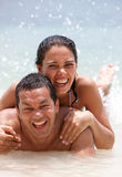 Couple on vacations Royalty Free Stock Photography