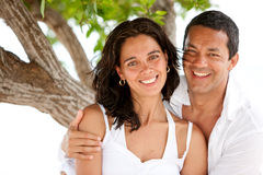 Couple on vacations Stock Image