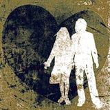 Couple, valentine design Royalty Free Stock Image