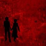 Couple, valentine design Stock Photo