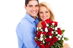 Couple valentine's day Stock Photos