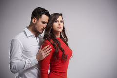 Couple in Valentine`s day Stock Photography