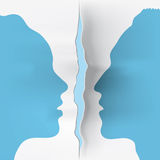 Couple (vector) Royalty Free Stock Image