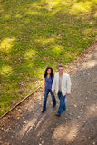 Couple Walk Royalty Free Stock Image