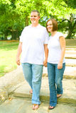 Couple Walking Stock Images