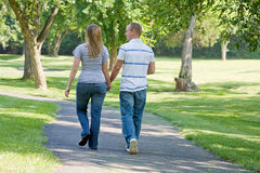 Couple Walking Stock Images