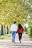 Couple walking Stock Photo