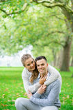 A couple walking in the Hyde Park, London Stock Photos