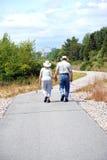 Couple walking together. Stock Photo