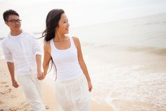 Couple by water Royalty Free Stock Photos